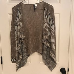 Absolutely brown patterned sweater - Size S